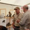 Tony with Simon King at Rutland Bird Fair.